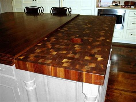 buy butcher block countertops 3 quot end grain walnut countertop eased square edge