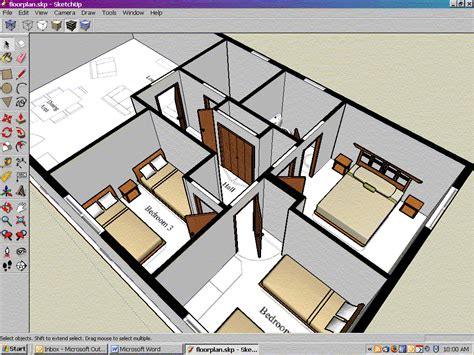 floor plan google sketchup derang sketchup make woodworking