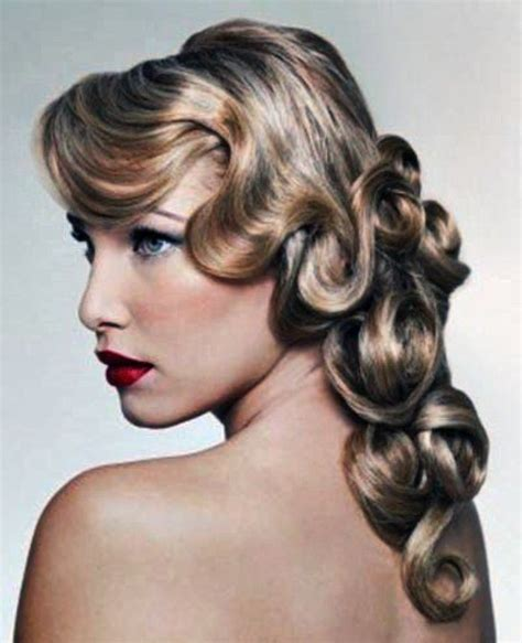 Long Curly Hairstyles Of The 20s And 30s | long 20s style gatsby hair pinterest 1920s