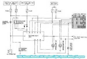 1994 nissan maxima j30 daytime light system wiring diagram