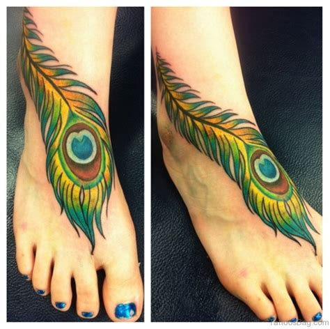 feather tattoo in foot 60 fabulous feather tattoos on foot