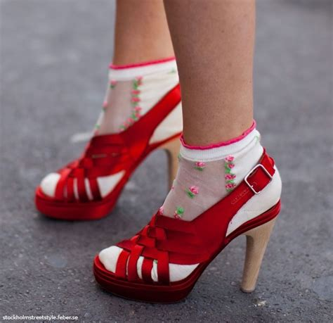 Heels At11 fashion for trend alert sandals with socks fab or