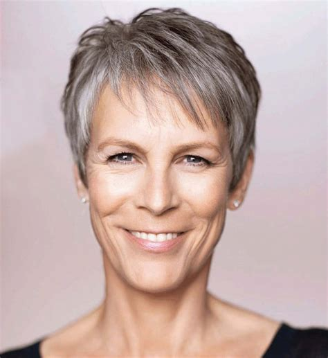 gray hair styles for younger jamie lee curtis photo 37 of 51 pics wallpaper photo