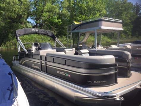 premier pontoon for sale 2014 used premier 240 sunsation pontoon boat for sale