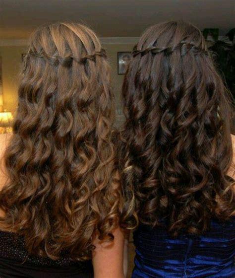 hairstyles for graduation in grade 6 20 diy waterfall braid tutorial ideas hair style