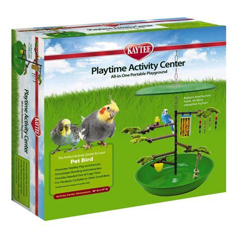 desktop activity center for pet birds bird cages and
