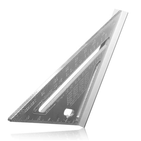 Triangle 8 8 Inchi By Alroy 7inch silver aluminum alloy speed square roofing triangle