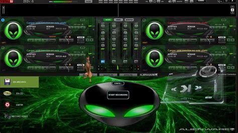 imagenes virtuales con movimiento para pc skin para el virtual dj alien green con movimientos en los