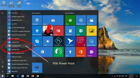 cara membuat power point di notebook power point tutorial membuat presentasi keren the crazy