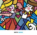 musica swing famosa romero britto posters and prints at