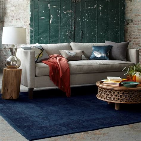 west elm dunham sofa dunham down filled sofa box cushion west elm