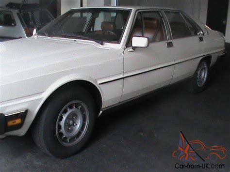 how to sell used cars 1984 maserati quattroporte electronic throttle control extremely rare 1984 maserati quattroporte iii royale 84k automatic carfax books