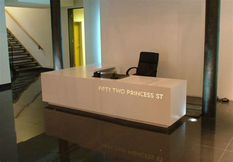 Bespoke Reception Desk Bespoke Office Furniture Custom Made Reception Desks Shopfitters Manchester Contemporary