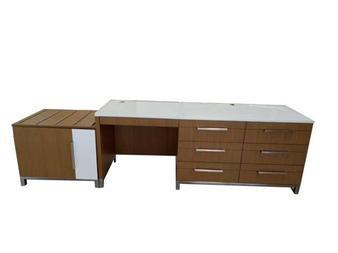 glass writing desk with drawers hotel furniture glass top writing desk with multi drawers