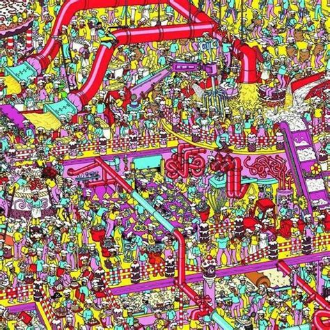 Wheres The Cutlery by Where S Waldo Childhood Nostalgia