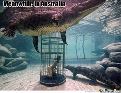 meanwhile in australia by recyclebin meme center