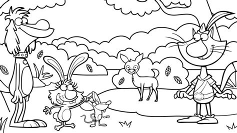 nature cat coloring page nature cat coloring pages wttw chicago public media