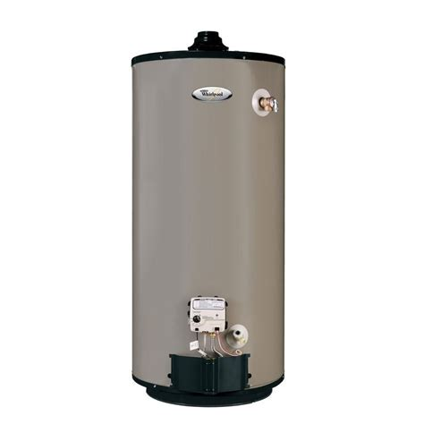 whirlpool water heater parts lowes whirlpool b4481 40 gal 9 year limited short gas water