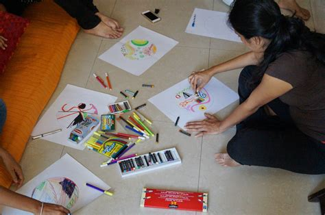 therapy ideas group art therapy our team activity