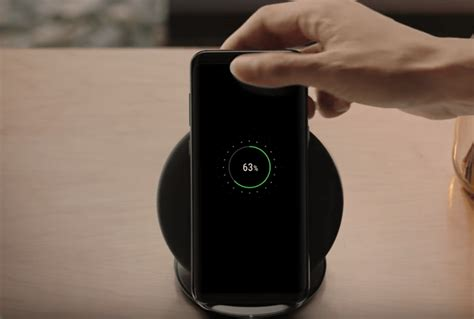 Samsung S8 Wireless Charging samsung galaxy s8 device features new design