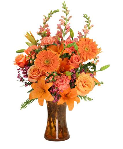 unique flower arrangements orange unique floral arrangement in orange beach al all