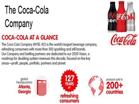 layout design of coca cola company coca cola company profile by arun franco