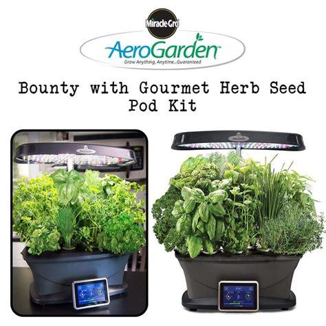 clearance depot  aerogarden bounty  gourmet herb
