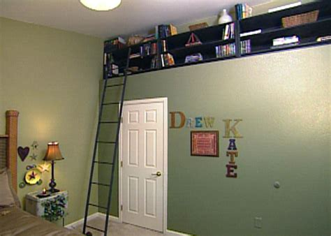 how much to build a room above the garage how to build bookshelves for a recessed nook hgtv