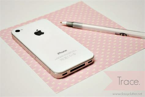 How To Make Phone Cases Out Of Paper - diy iphone cases 2 clutter