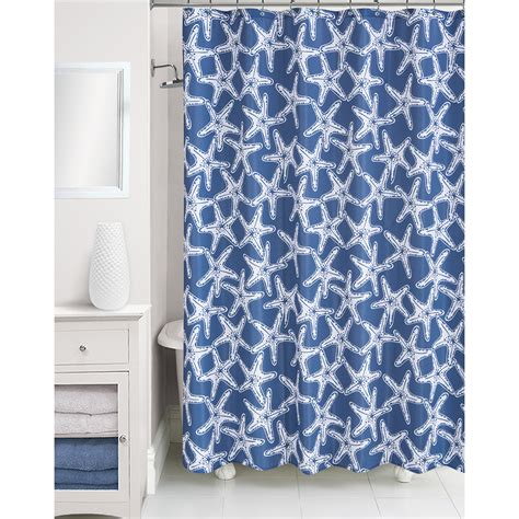 starfish bathroom accessories essential home shower curtain starfish home bed