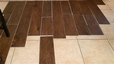 can you install tile on wood floors review carpet co