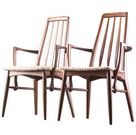 dining room chairs with arms for sale pair of niels koefoed rosewood dining chairs with arms for