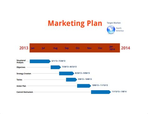 marketing plan timeline template marketing timeline 10 free for pdf doc excel