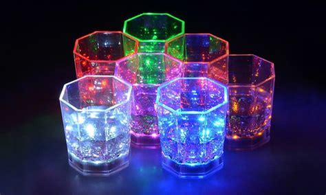bicchieri led bicchieri da con led groupon goods