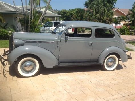 1938 plymouth for sale 1938 plymouth p6coupe american classic for sale