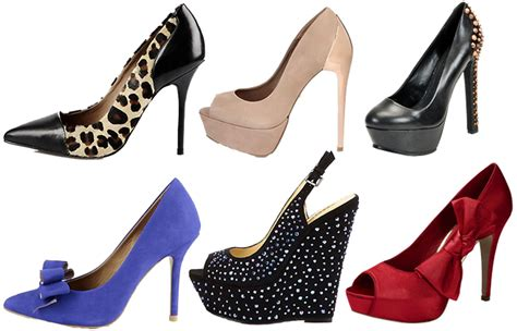different types of heels for must stylish