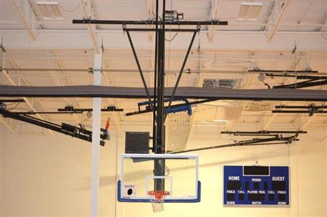 whiteford spalding ceiling mounted basketball