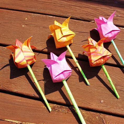 Blume Falten Kindergarten by Blumen Falten Aus Papier Origami Anleitungen F 252 R