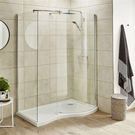 Large Walk In Shower Enclosures Premier 1400mm Walk In Shower Enclosure Left Or Right