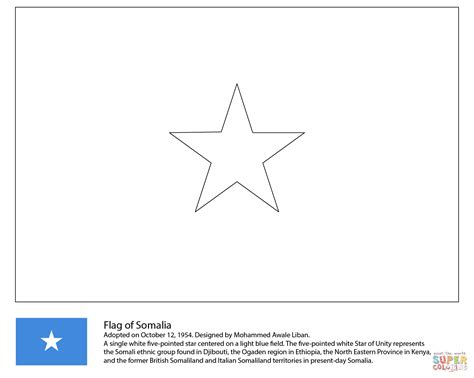 beautiful click the flag of somalia coloring pages to view