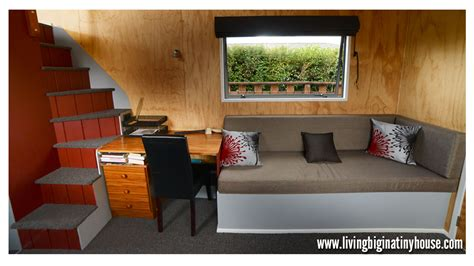 tiny house living room the grid tiny house tour living big in a tiny house