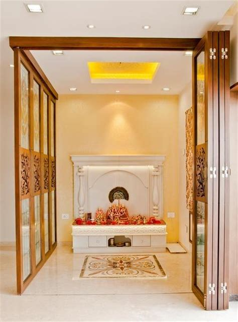 home temple design interior puja room in modern indian apartments choose your pooja room