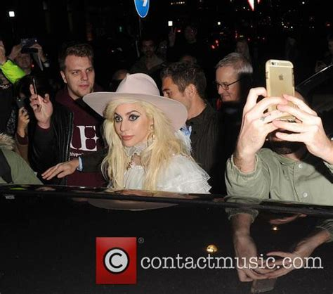 lady gaga fan mail email address lady gaga lady gaga leaving her hotel holding her guitar