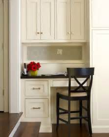 Small Kitchen Desk Chairs Neat Tidy Kitchen Desk Office Nook Ideas