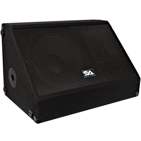 Floor Monitor by Seismic Audio Pa Floor Monitor Pro Church Karaoke 350w Ebay