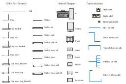 How To Draw House Plans On Computer design elements network layout floorplan