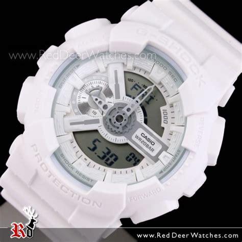 G Shock White buy casio g shock white analog digital display ga 110bc 7a ga110bc buy watches