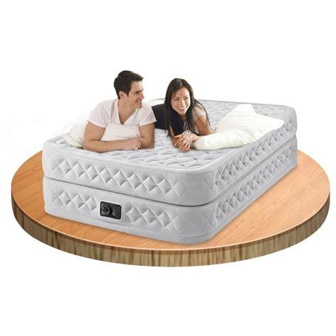 materasso gonfiabile matrimoniale intex con pompa elettrica incorporata materasso gonfiabile matrimoniale intex airbed
