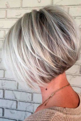 short angled bob with layers vs no layers short layered hairstyles for women lovehairstyles