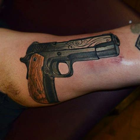 1911 tattoo designs 12 best tattoos images on tatoos pistol gun